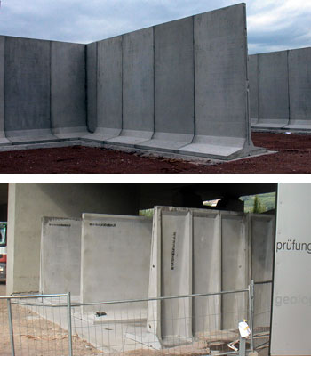 Divisori prefabbricati in cemento