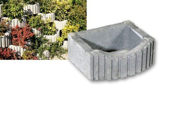 Flora Gruppe 600x403 - Muri di sostegno fino a 2 mt. mini alpenstein arredo-urbano