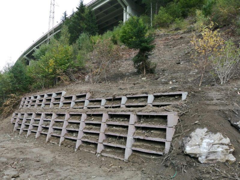 IMG 20190926 161256 resized 20190926 054658218 800x600 - Muri di sostegno Krainerwand fino a 12 mt. inverditi tipo terra armata - arredo-urbano-