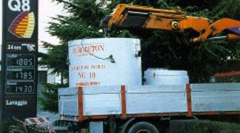 Mineral oil separators in reinforced concrete (1)