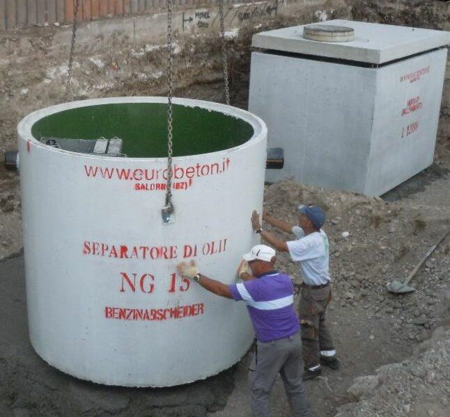 Mineral oil separators in reinforced concrete (3)