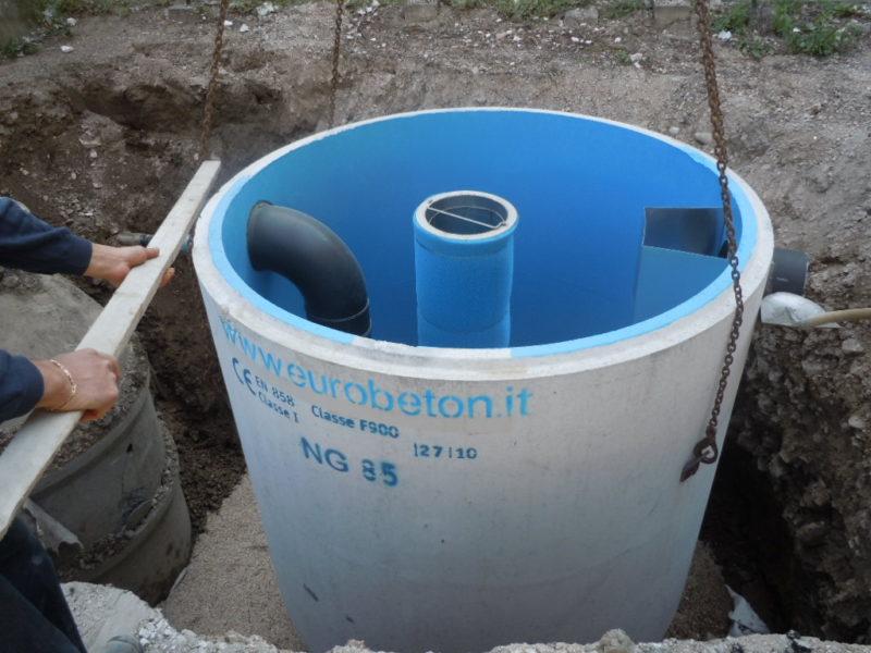 Mineral oil separators in reinforced concrete (4)