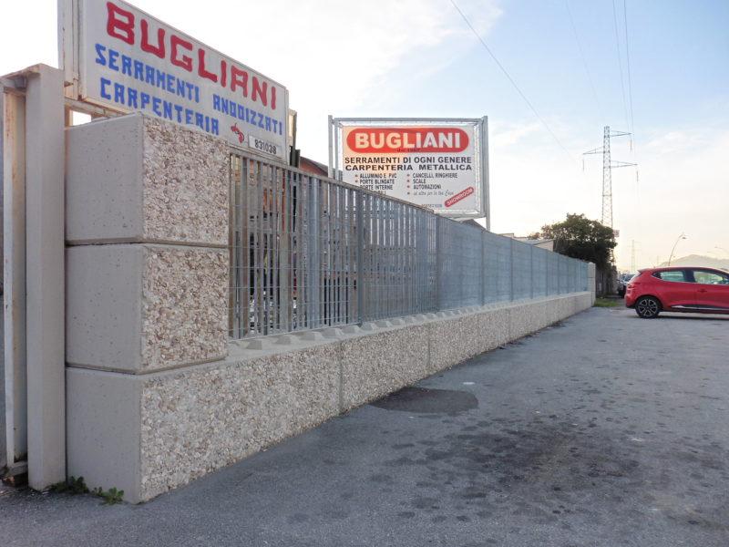 recinzione dolomitilego serie 600 abbinata a rete orsogrill