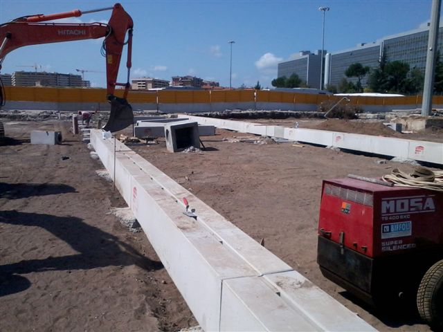 Slotted channels for airports self-supporting D400 or F900 (10)