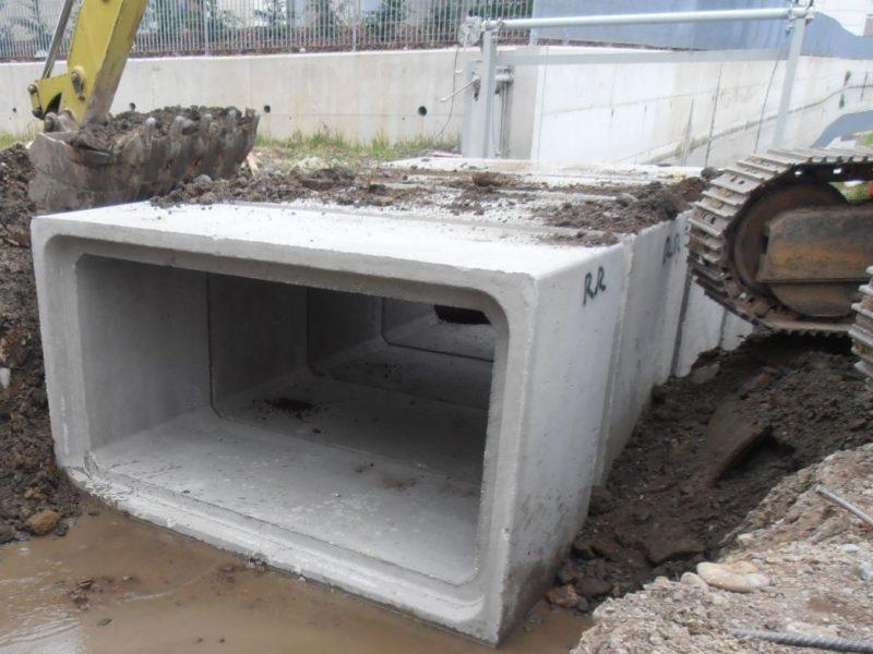 Viereckiges Leitungsrohr 6 - Viereckiges Leitungsrohr - kanalisation-