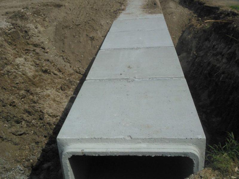 Viereckiges Leitungsrohr 7 - Viereckiges Leitungsrohr - kanalisation-
