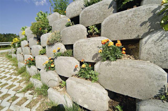 alpenstein 2 - Retaining walls up to 4 mt. Alpenstein - urban-decor-