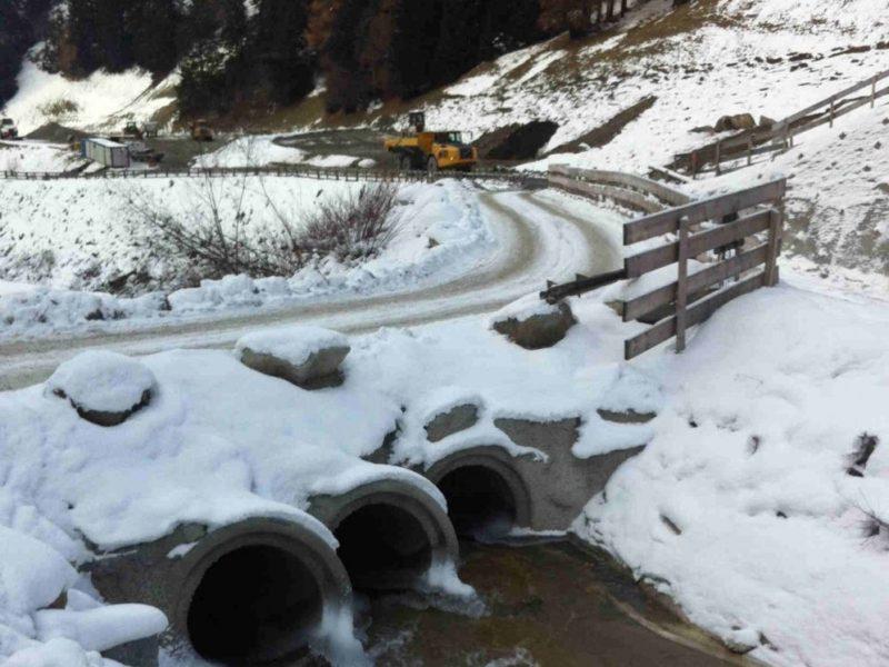 tubi DN.1200x2000 DIN 4032 per attraversamenti nei lavori di realizzazzione del tunnel del brennero