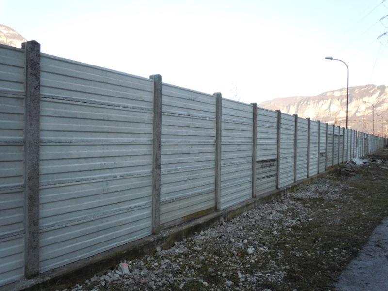 Lastre per recinzioni eurobeton for Staccionata dwg