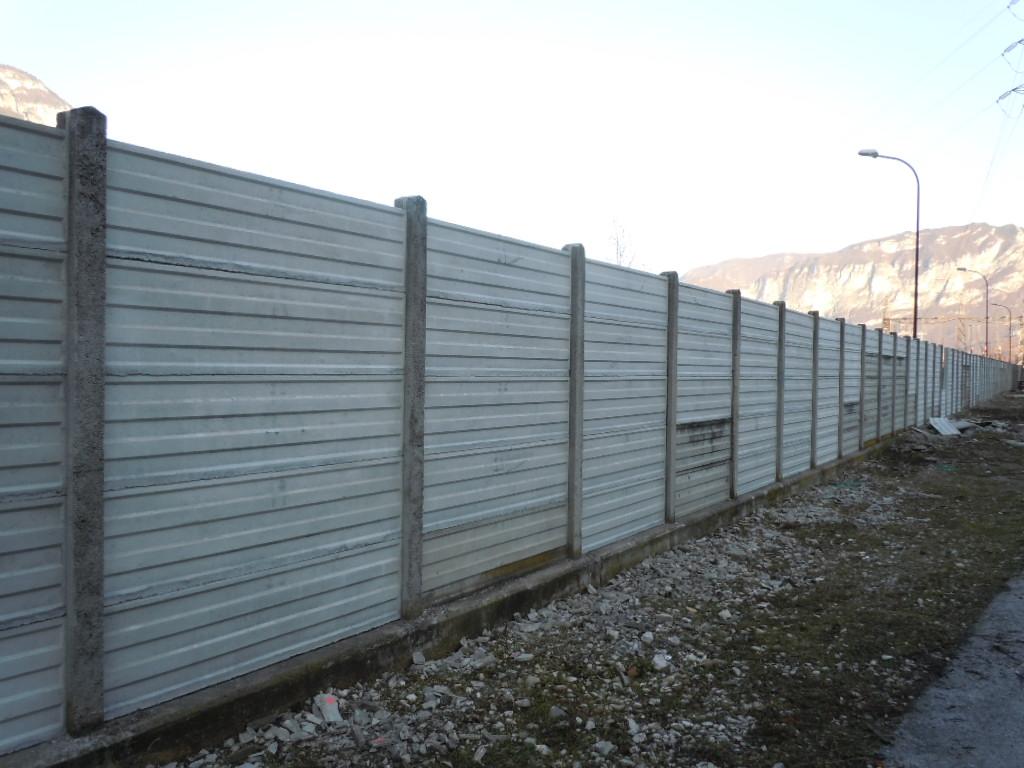 Lastre per recinzioni - Eurobeton