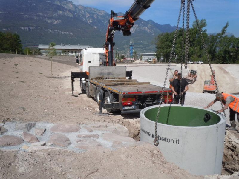 2017 posa di vasca da 5000 litri