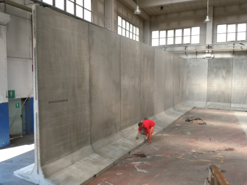 ex speedline: silos per stoccaggio sale DIVISORIO H.5000 della Provincia Autonoma di Bolzano