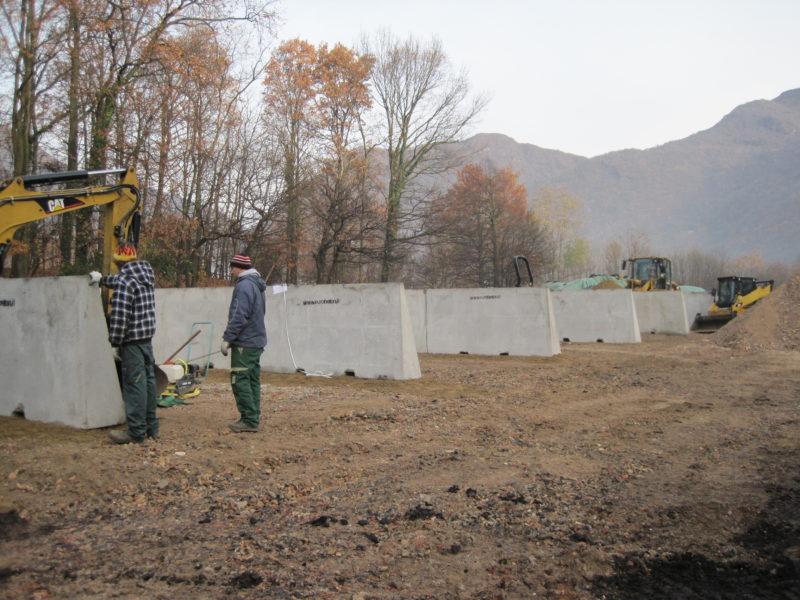discarica lugano svizzera 800x600 - Muri divisori di materiali - strade-