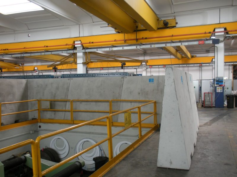 big giant H.200 a  protezione di fossa di collaudo valvolame PIBIVIESSE