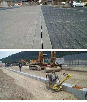 fotocanalifessura - D400 o F900 - Canali a fessura per aereoporti autoportanti - drenaggio-superficiale-delle-acque-