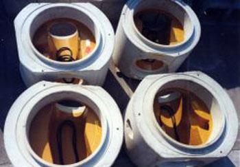 fotocircolari - Round shafts DN.1000-1200 DIN 4034 sewers