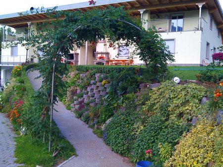 """fotoflora 2 2 - Retaining walls up to 2 mt. """"flora leggero"""" (mini alpenstein) - urban-decor-"""