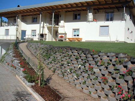 """fotoflora 3 - Retaining walls up to 2 mt. """"flora leggero"""" (mini alpenstein) - urban-decor-"""