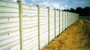 fotolastre - Slabs for fencing roads