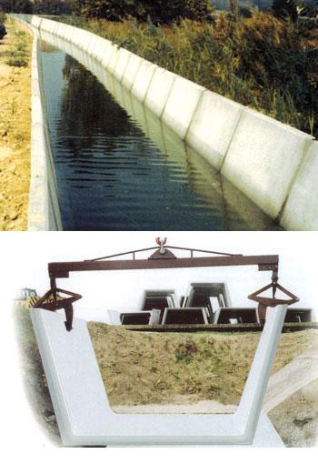 fototrapezoidali - Canalette trapezoidali canalizzazioni-a-cielo-aperto