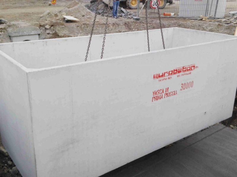 Vasche di contenimento giganti - Eurobeton