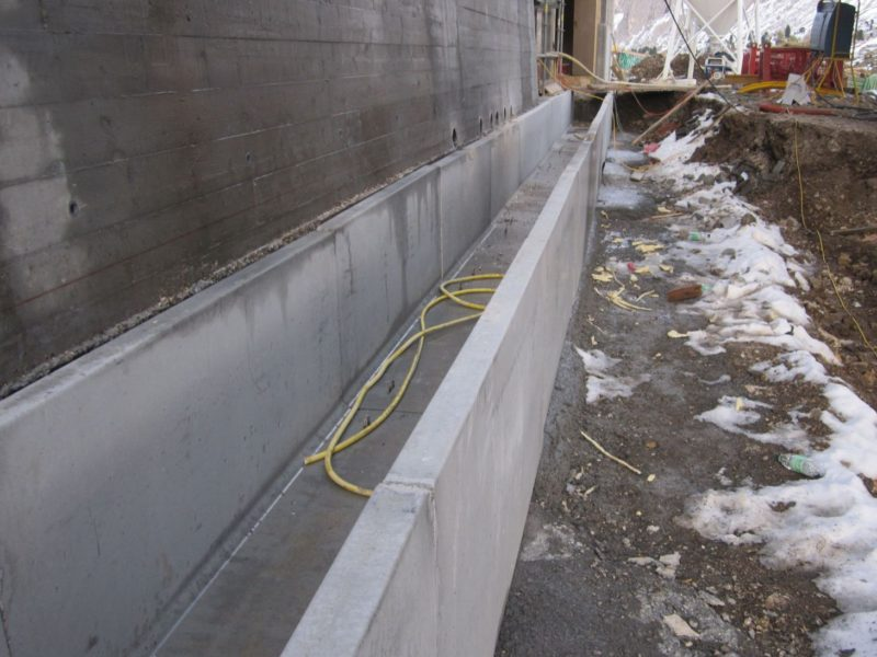 posa canale 720x710 per costruzione seggiovia a Valle