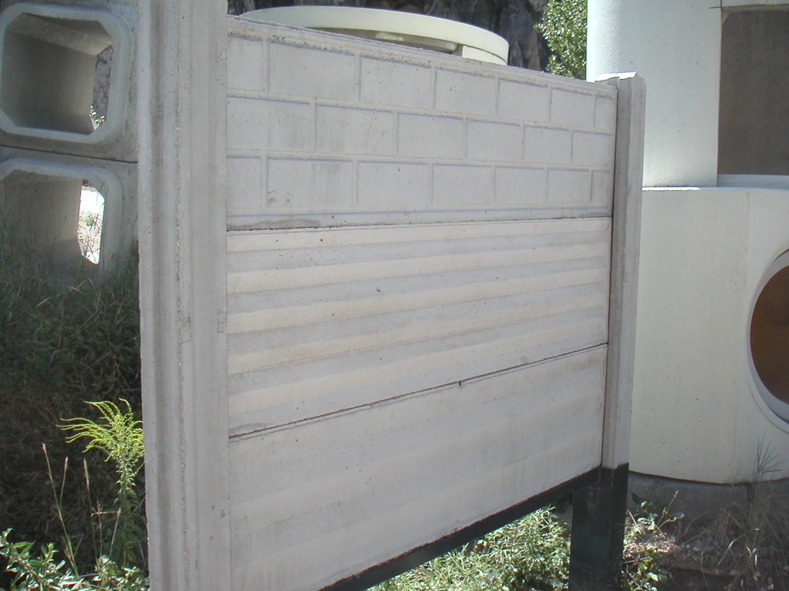 Recinzioni Per Giardino In Cemento.Lastre Per Recinzioni Eurobeton