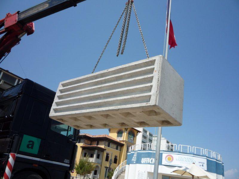 posa in opera lego 800x600 1 - Trennwände EURO-LEGO - strassenbau-