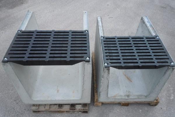 """serie mammuth 600 700 600x403 - D400 o E600 - Canali grigliati tipo """"sicurezza"""" imbullonati in cemento drenaggio-superficiale-delle-acque"""