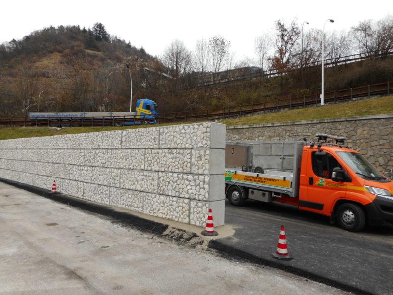 dolomitilego serie 600 per la costruzione di muratura per silos deposito sale - 1 step
