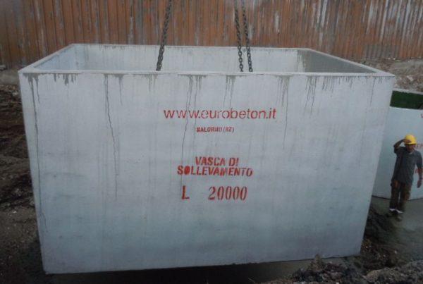 vasca da 20000 litri 600x403 - Vasche di contenimento giganti ecologia-ambientale