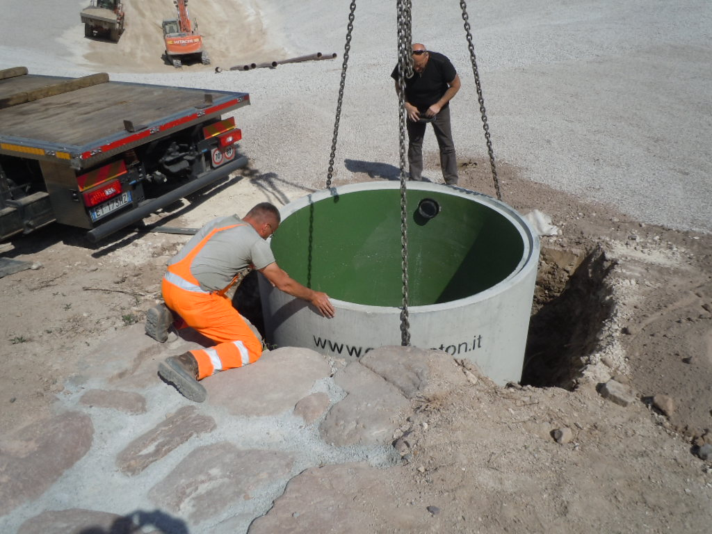 vasca di sollevamento - Vasche di sollevamento ecologia-ambientale